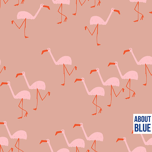 Flamingo - About Blue - French Terry