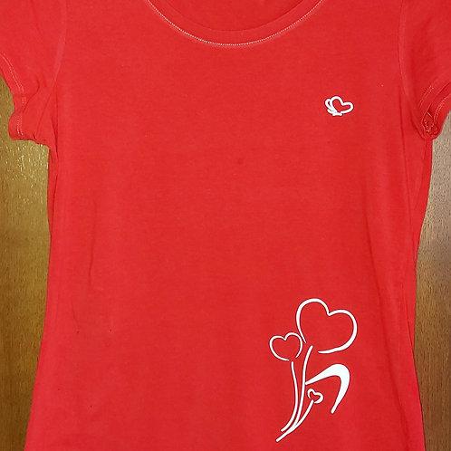 T-shirt dames 3d print - B&C -te personaliseren naar wens