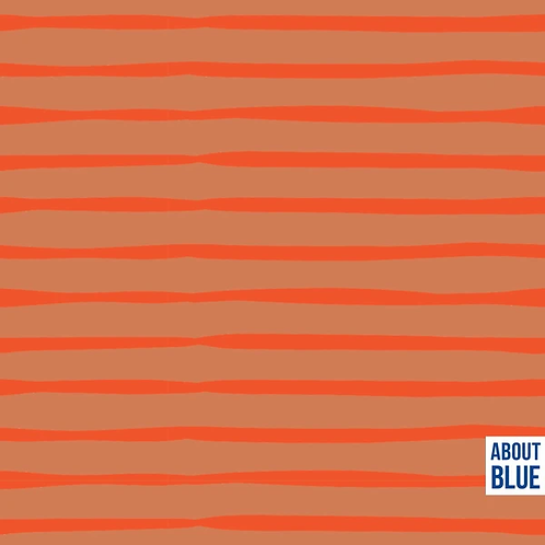 Flame Lines -  About Blue - French Terry/Summersweat