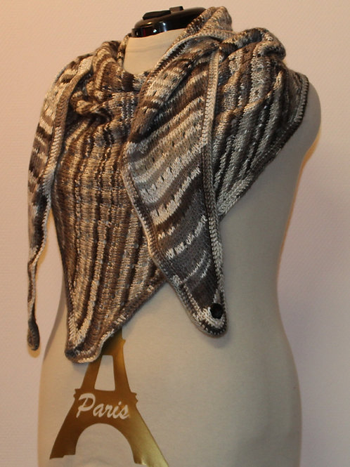 Handgehaakte sjaal