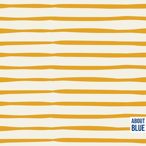 About Blue - Gouden Strepen - French Terry/Summersweat