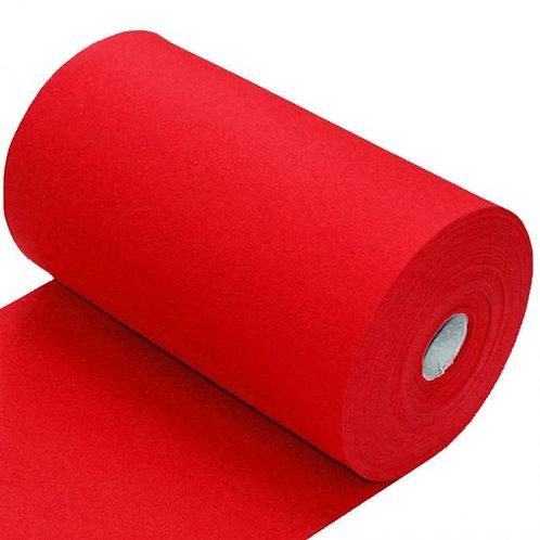 Rood - Boordstof - Katoen/Elastan