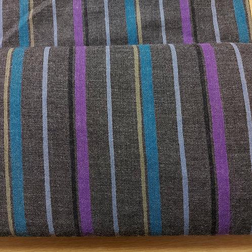 Multi color strepen - Katoen/Polyester
