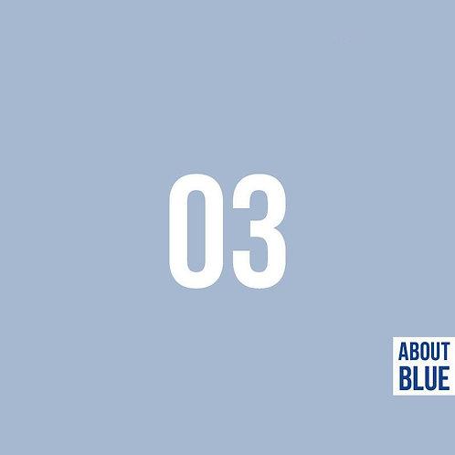 Cashmier Blauw - About Blue - Boordstof
