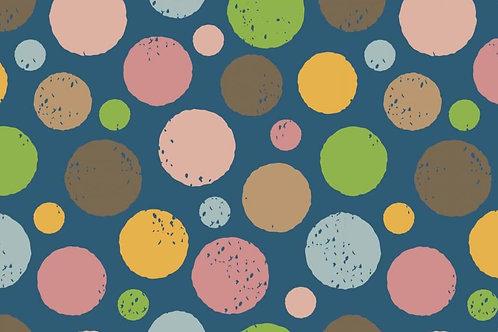 Grote bollen  - Megan Blue - Digitale katoen jersey