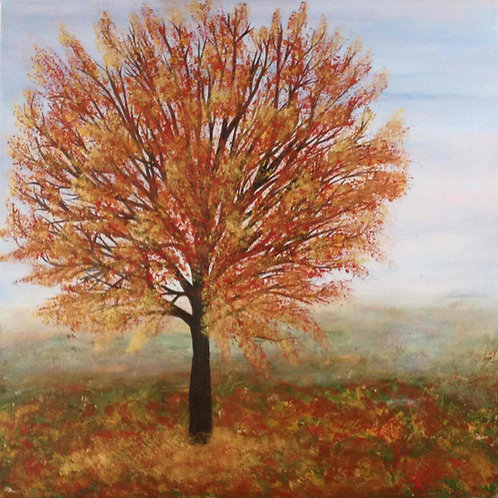 Gold Autumn Tree