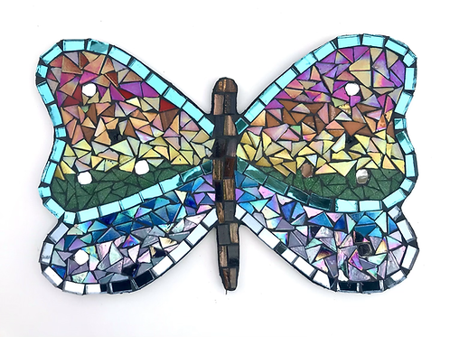 Butterfly Wall Mosaic