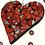 Thumbnail: Red Mosaic Heart 1