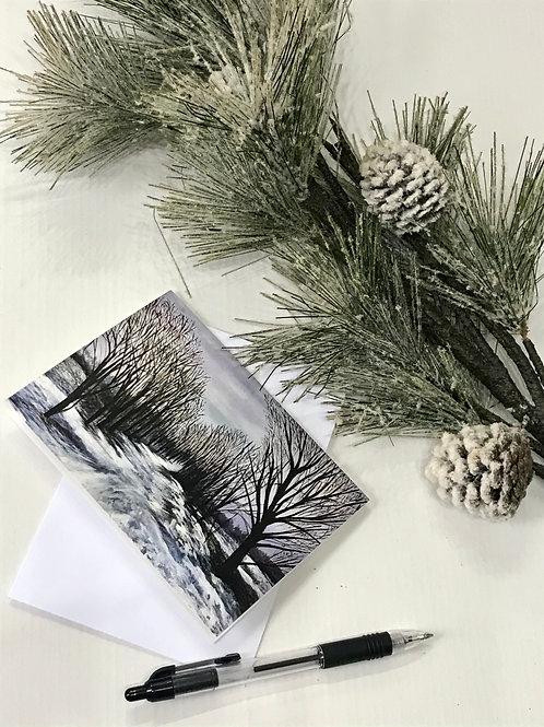 A6 Winter Card- Nork Park
