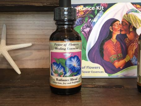 「自分自信に魅力を感じ、喜びと活力を!」'ラディアンス'  The Power of Flower 'Radiance Flower Essence Blend' to feel the attrac