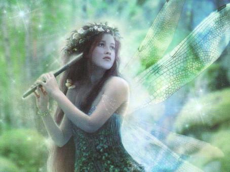 Tree dryads, fairies and magic