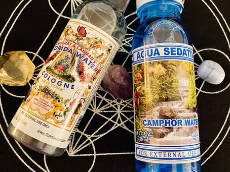 Florida Water, Camphor Water and Mother Mary