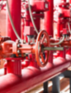 Fire protection systems - design, installation, retrofitting, maintenance, inspections. Sprinkler systems, alarms, fire pumps, backflow, fire safety plans.