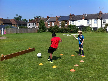 kids holiday football north london, kids football camps london, summer 2012 football camps north london
