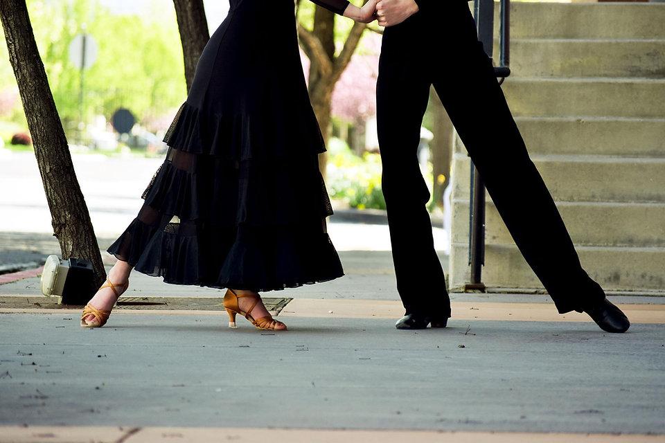 Ballroom Dancing in the streets