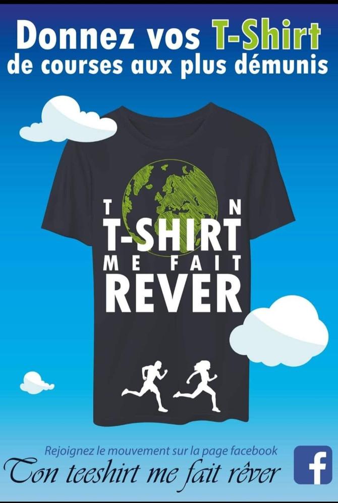 Ton t-shirt me fait rêver !