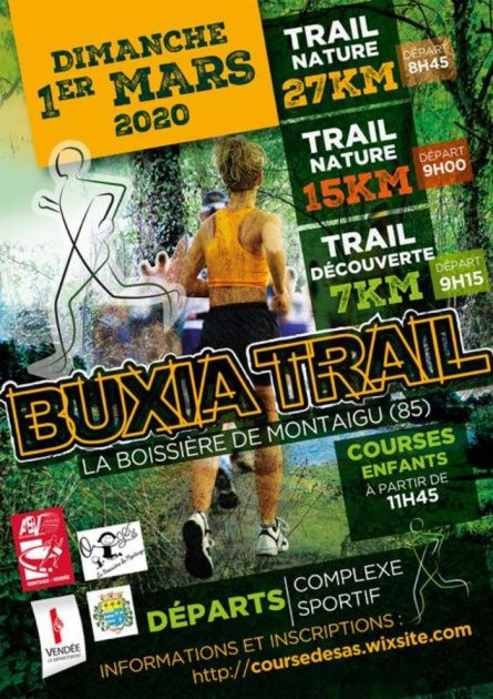 Team buxia trail