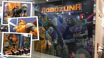 ROBOZUNA - Toys, Branding, Marketing And Exhibtions