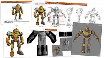 ROBOZUNA - Character Design and Look Dev