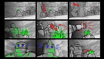 ROBOZUNA - Animatics And Storyboards