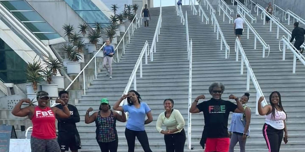 Tuesday Night Stairs Workout