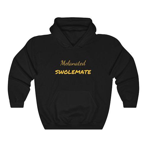 Unisex Melanated Swolemate™ Hooded Sweatshirt