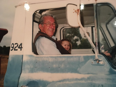 2004 with Natalie in truck.jpg