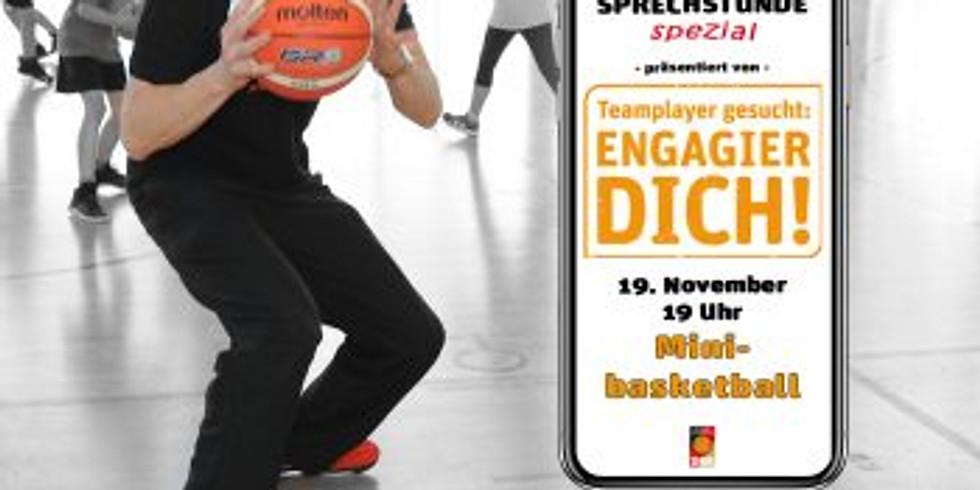 "DBB Engagier Dich!: ""Digitale Sprechstunde - spezial"" Minibasketball"