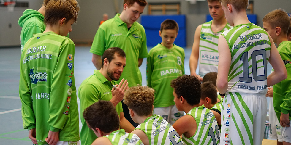 Heimspiel der U14-Bayernliga gegen BBU´01 Sektion BY e.V.