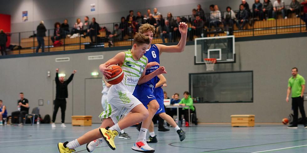 U14 Heimspiel gegen TG Würzburg