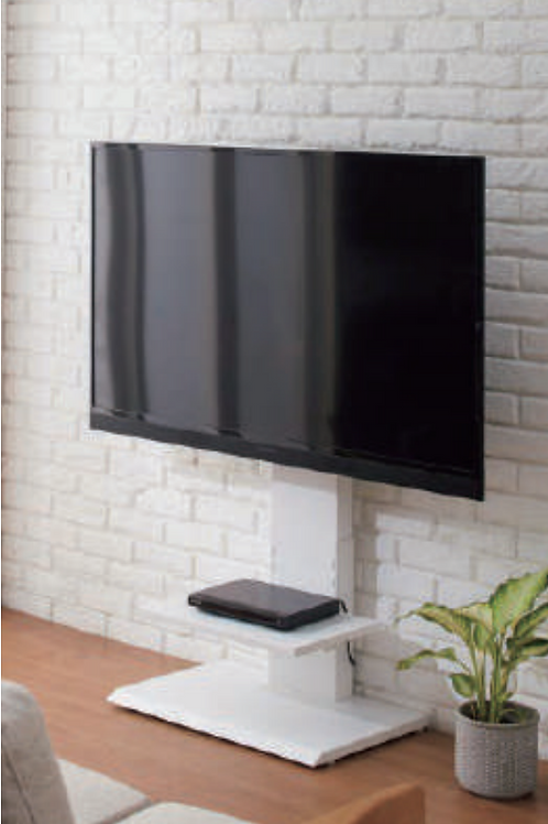 Wall-hung style TV stand(壁掛け風TV台)