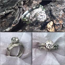 Diamond Tri-Cord Ring