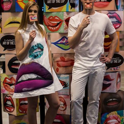 Marka kosmetyczna Mac Art, sklepy Douglas - Wilno, Litwa - event promocyjny