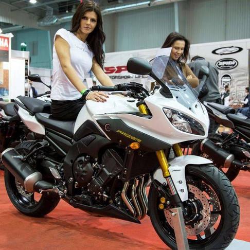 Urocze hostessy z charakterem - event motocyklowy w Koszalinie