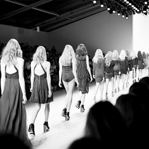 Pokaz mody awangardowej