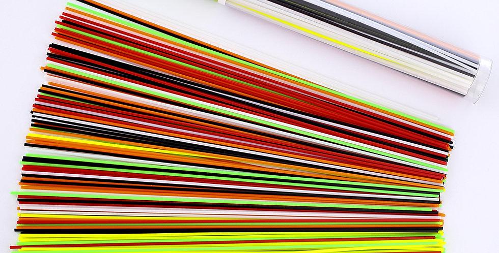 PLA пръчици 150 бр. 25cm 6 цвята