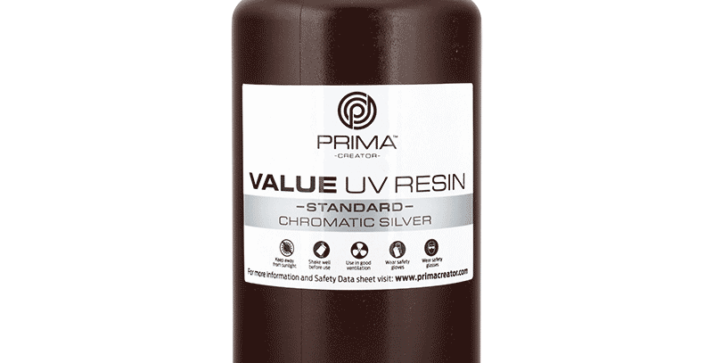 Смола PrimaCreator Value 1l Transparent Chromatic Silver