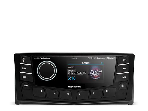 """PUNCH Аудио плейър RMX-5 с2зони & 1 управление, 2.7"""" дисплей"""