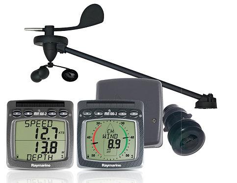 Т108-868 Безжичен Wind/Speed/Depth комплект с 3 сонди