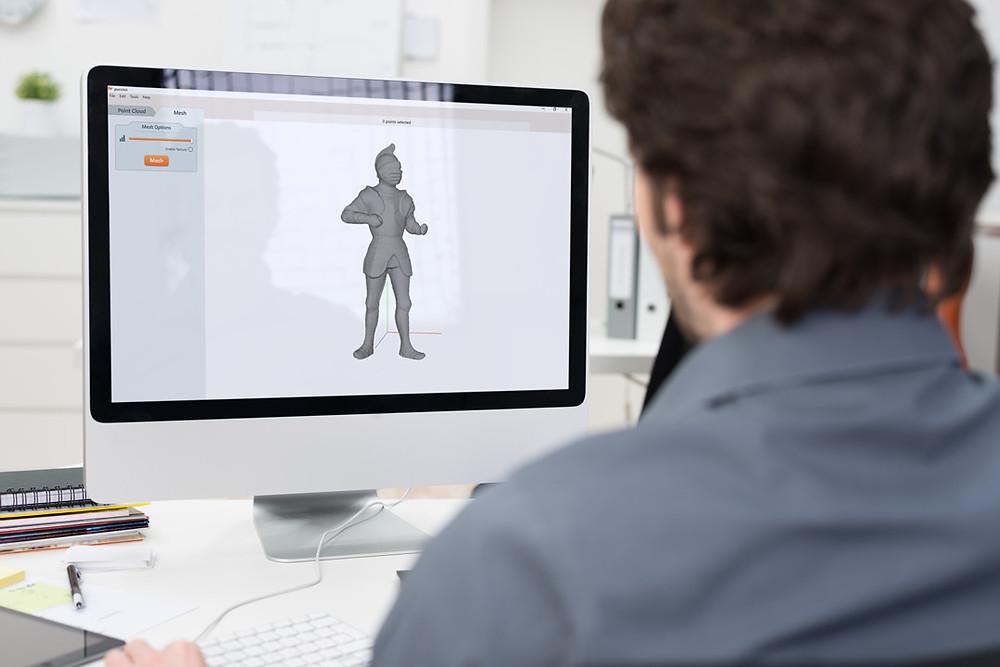 3D сканиране с образователна цел