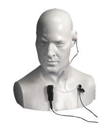 EA15/750 ENTEL Прозрачна тръбичка-слушалка и микрофон