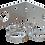 Thumbnail: 10000-221 Стойка Г-образна N162F/163F INOX за монтаж на стена/мачта