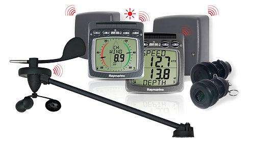 Т104-868 Безжичен Wind/Speed/Depth + NMEA комплект