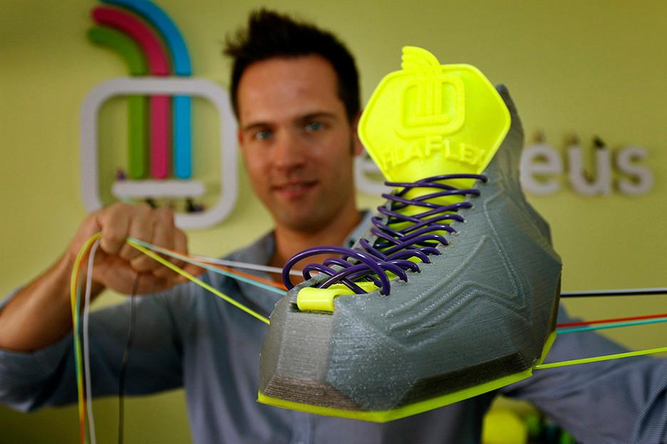 Обувка 3D принтирана с Filaflex от Recreus