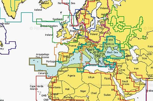 Navionics+ Карта