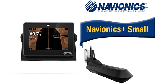 E70635-03S AXIOM+ 7RV с вграден Real Vision 3D сонар + RV-100 + карта Nav+ Small