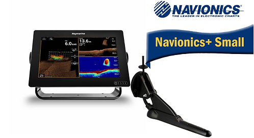 E70367-020S AXIOM 9RV с вграден Real Vision 3D сонар + CPT-100DVS + Nav+ Small
