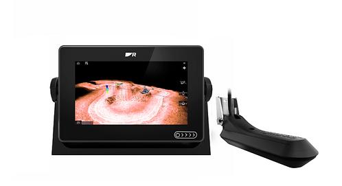 E70637-03 AXIOM+ 9RV с вграден Real Vision 3D сонар + RV-100