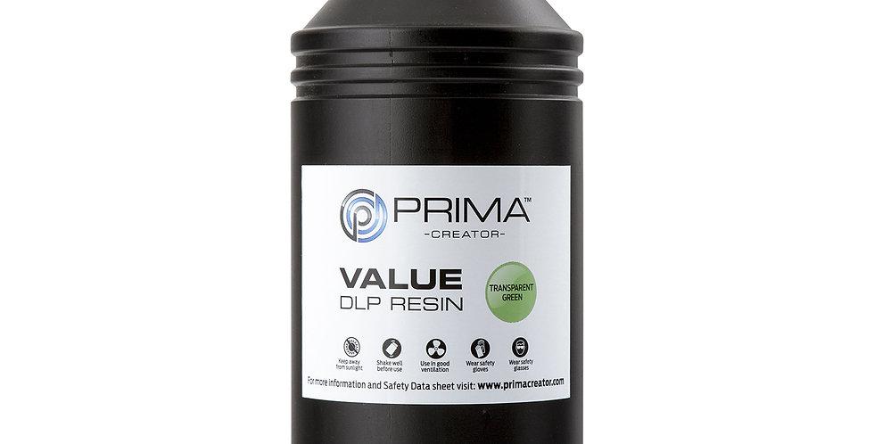 Смола PrimaCreator Value 1l Transparent Green