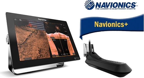 E70369-030N AXIOM 12RV с вграден Real Vision 3D сонар + RV-100 + карта Nav+